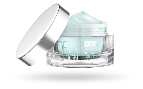 HYDRA REVOLUTION Continuous Hydration Mask All skin types Face and Neck - PUPA Milano