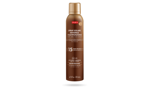 Multifunction Invisibile Sunscreen Spray SPF 15 (200 ml) - PUPA Milano
