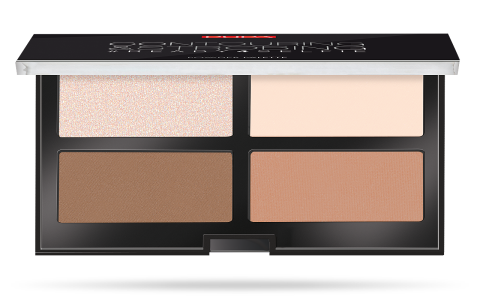 #READY4SELFIE Contouring & Strobing Powder Palette - PUPA Milano