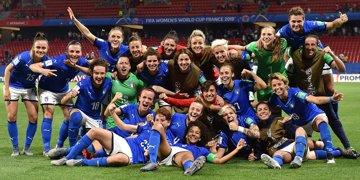 PUPA Make Up delle Nazionali Italiane Femminili di Calcio